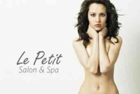 Le Petit Salon and Spa - Brazilian or Hollywood Wax Plus Underarms - Save 74%