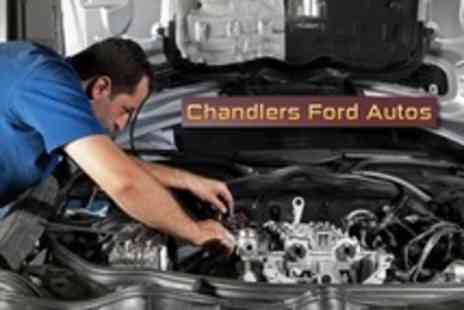 Chandlers Ford Autos - Car Service With Oil and Filter Change Plus Air Con Check And Exterior Wash - Save 63%