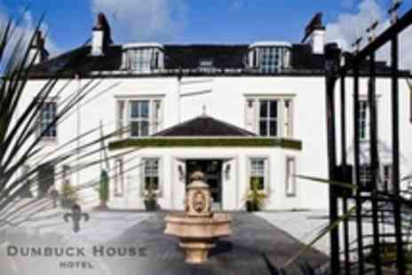 Dumbuck House Hotel - Wedding Package For 75 Guests Including Wedding Breakfast and Drinks on Arrival - Save 53%