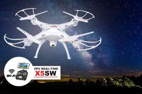 FDS Corporation - Syma X5SW drone choose from two colours - Save 78%