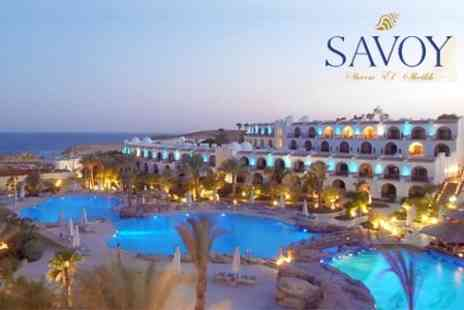 Savoy Sharm el-Sheikh - Explore Egypt with a Nine Night Stay at the Award-Winning 5* Savoy Sharm el-Sheikh with Direct Return Flights from Heathrow - Save 50%