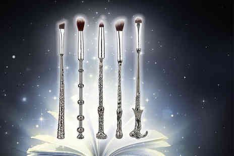 Tomllo - 5pc harry potter inspired wand makeup set - Save 80%