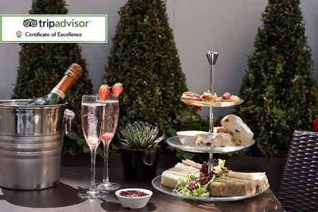 Blakemore Hyde Park Hotel - Afternoon tea for two with a bottle of Prosecco to share - Save 52%