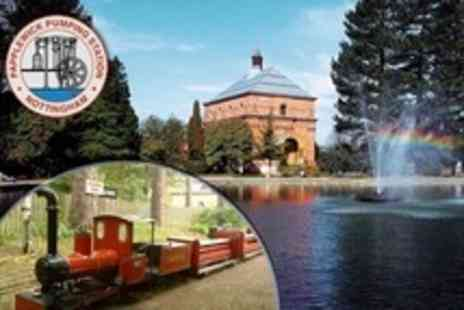 Papplewick Pumping Station - Family Ticket to Summer Steam Weekend - Save 57%