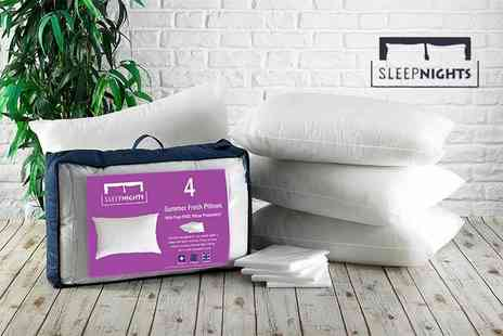 Better Dreams - Four essential pillows & 4 pillow protectors - Save 67%