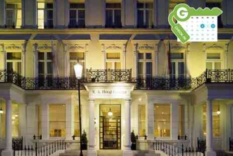 K plus K Hotel - Classic or Superior Room Stay for Two with Meals Discount and Optional Breakfast - Save 20%