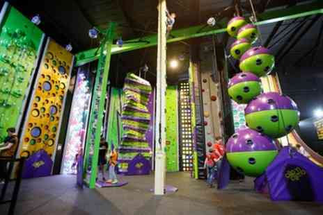 Clip N Climb Chester - 90 Minute Clip And Climb Session for Up to Four - Save 40%