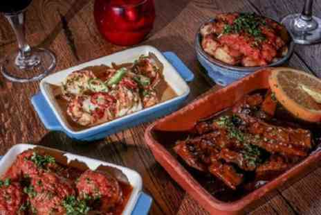 Rioja Tapas Restaurant - Five Tapas to Share for Two or Ten Tapas to Share for Four - Save 34%