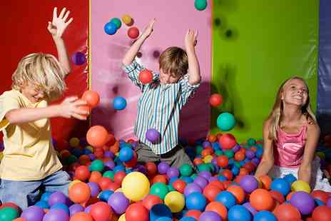 The Jolly Jungle - Soft Play with Biscuit Bar and Drink for Up to Four Children - Save 29%