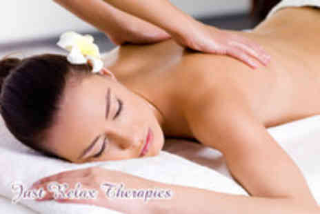 Just Relax Therapies - 1 hr full body Swedish or sports massage & 1 hr holistic facial massage - Save 77%