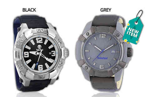 Class Watches - Timberland mens watch choose from two designs - Save 61%