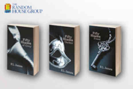 Random House - 1 title from the best selling Fifty Shades Trilogy - Save 56%