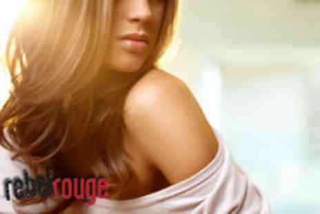 Rebel Rouge - Full head of colour and cut & blow dry with a senior stylist - Save 67%
