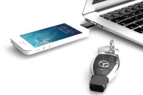 Groupon Goods Global GmbH - One or Two Lightning Charger Keys for Apple iPhone and iPad - Save 80%