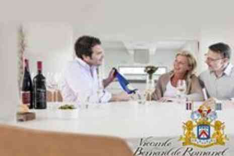 Vicomte Bernard de Romanet - Group Wine Tasting from Home - Save 81%