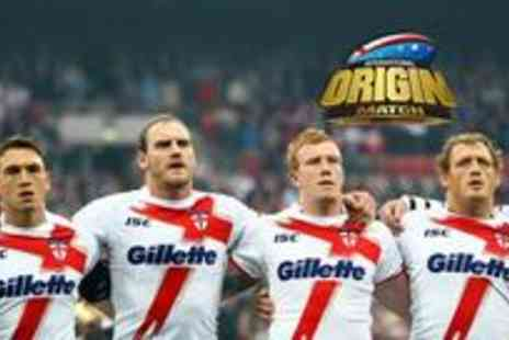 The Rugby Football League - Two adult tickets to watch England vs the Exiles at Galpharm Stadium on 4th July - Save 60%