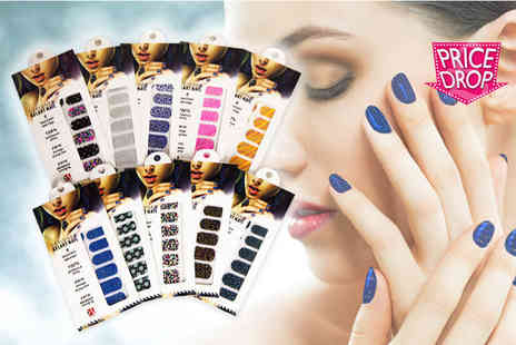 Forever Cosmetics - Pack of 80 nail wraps - Save 80%
