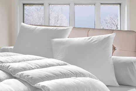 Direct Warehouse - Single, double, king or s super bounce back winter duvet 15 tog - Save 71%