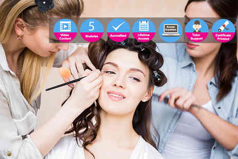 Skill Success - Professional hair and makeup artistry course - Save 91%