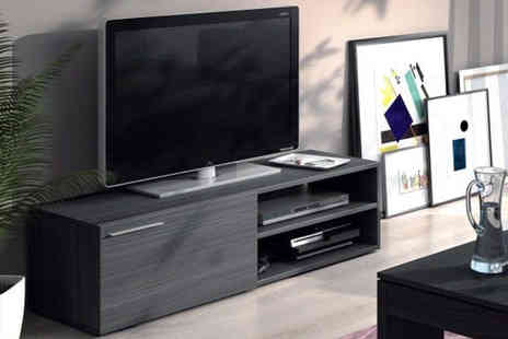 D Furniture Store - TV unit and matching shelf choose from two colours - Save 43%