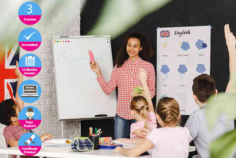 Oplex Careers - Accredited foundation TEFL course or professional course, or masters - Save 93%