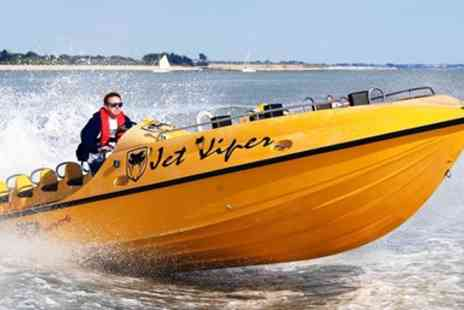 Saber Powersports - Jet Viper boat experience - Save 74%