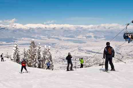 Broadway Travel - Four night ski getaway with meals & transfers - Save 0%