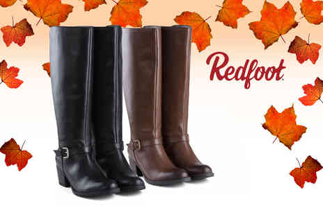 Shoeprimo - Ladies heeled long leg boots - Save 58%
