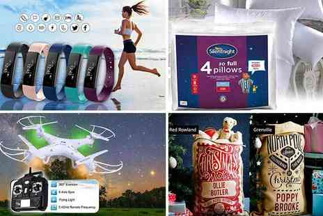 Wowcher Social Media - Win one of 12 incredible prizes this Christmas, from a city break in Paris to a quadcopter drone - Save 0%