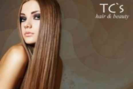 TCs Hair and Beauty - Half a Head of Highlights with a Redken conditioning Treatment plus Cut and Finish - Save 81%