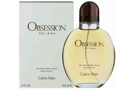Groupon Goods Global GmbH - Calvin Klein Obsession for Men Edt 125ml - Save 62%