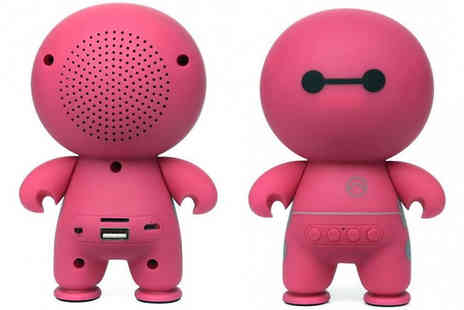 H&C Electronics - Bluetooth Stereo Cartoon Style Speakers Available in Three Colours - Save 83%