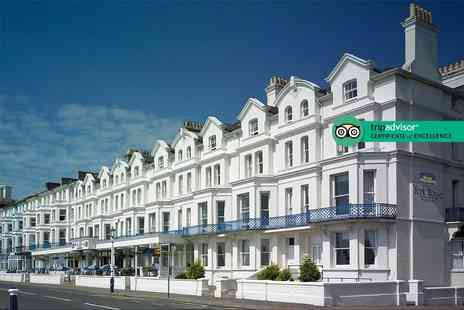 Best Western York House Hotel - Overnight Eastbourne break for two with breakfast and late checkout of 1pm - Save 72%