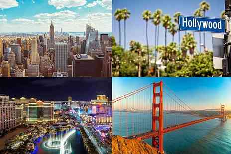 Bargain Late Holidays - Eight night New York, San Francisco, Las Vegas and LA trip with flights - Save 35%