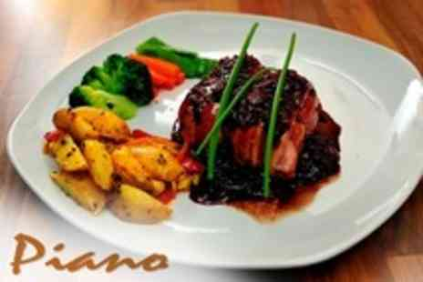 Cafe Piano - Two Courses of Italian Cuisine For Four With Appetiser and Coffee Each - Save 67%