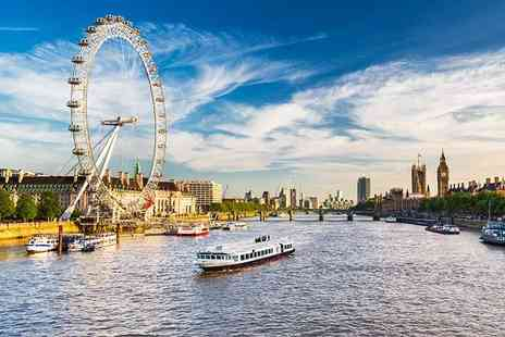 OMGhotels - Three Star overnight London stay with breakfast and Champagne London Eye Experience - Save 0%