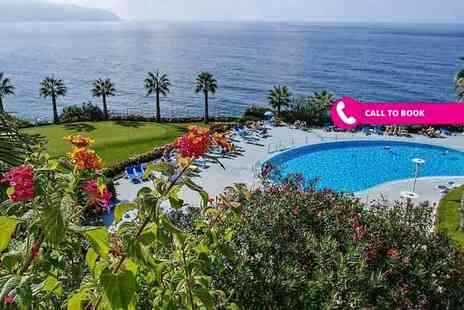 Super Escapes Travel - Five night 4 Star, all inclusive Madeira break with flights - Save 62%