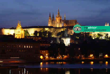 Great Pacific Travels - Two or three night, 5 Star Prague stay with breakfast and return flights - Save 58%