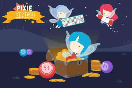 PixieBingo - £20 bingo credit to spend - Save 90%