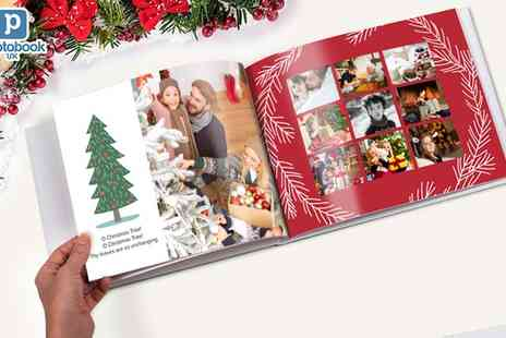 Photobook UK - Personalised Imagewrap Photobook with Choice of Sizes - Save 74%