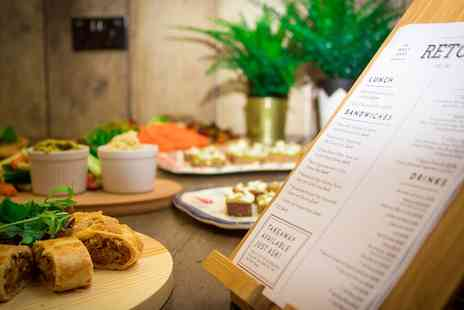 Retox Bar - Sharing Board or Brunch with a Choice of Alcoholic Drink for Two or Four - Save 25%