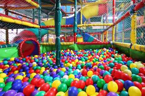 Holly Tree Soft Play - Soft Play Area Entry with Drink or Meal for One or Two Kids - Save 50%