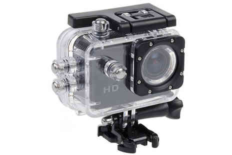 TLD Marketing - Waterproof Hd Action Camera Mountable - Save 81%