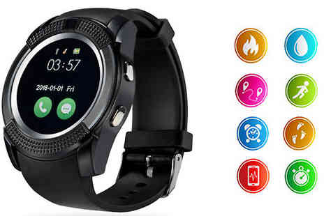 TLD Marketing - Android Smart Watch Pedometer, Calorie Counter, Sleep Tracker and More - Save 80%