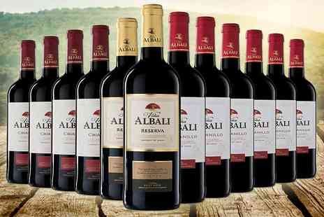 Easy Gifts - 12 bottles of internationally awarded red wines - Save 56%
