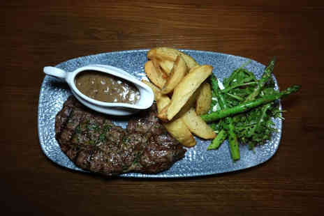 Berry St Bar & Kitchen - Two course steak dining for two with a glass of wine each - Save 44%