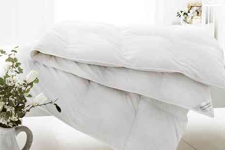 Groupon Goods Global GmbH - Goose Feather and Down Duvets in Choice of Size - Save 73%