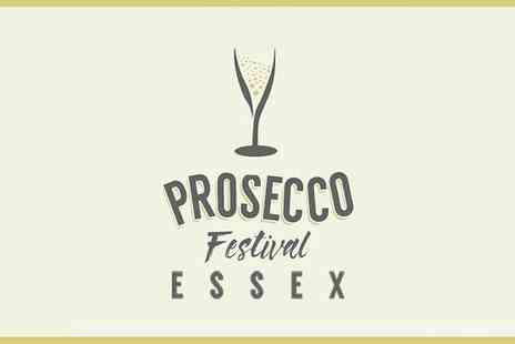 Prosecco Fest - One afternoon or evening ticket to ProseccoFest Essex on 25 November - Save 9%