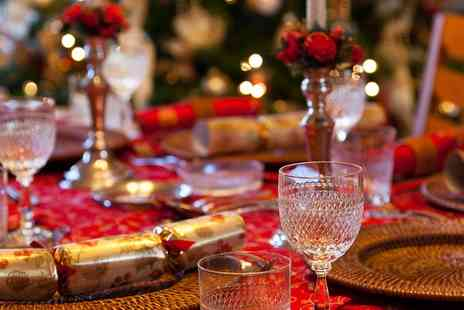 The Hilton Northampton Hotel - Winter Wonderland Night with a two course meal for two on 2 December 2017 - Save 53%