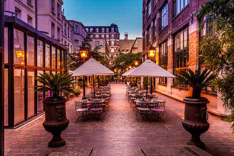 Les Jardins du Marais - Four Star Romantic Parisian Chic in Hip District for two - Save 70%